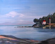 Georgina Point Light From Bellhouse